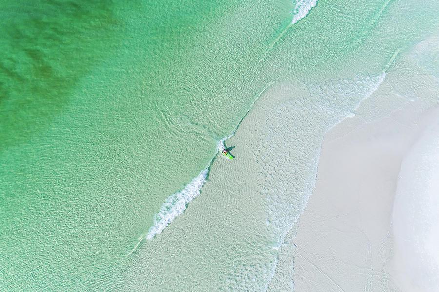 SoWal Surfing Aerial by Kurt Lischka