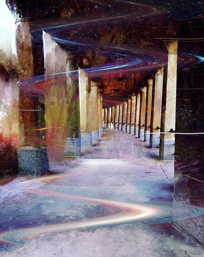 Space Corridor by Linda Sannuti