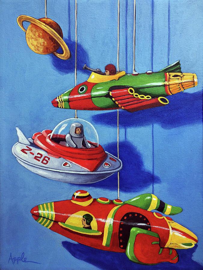 Space Dreams by Linda Apple