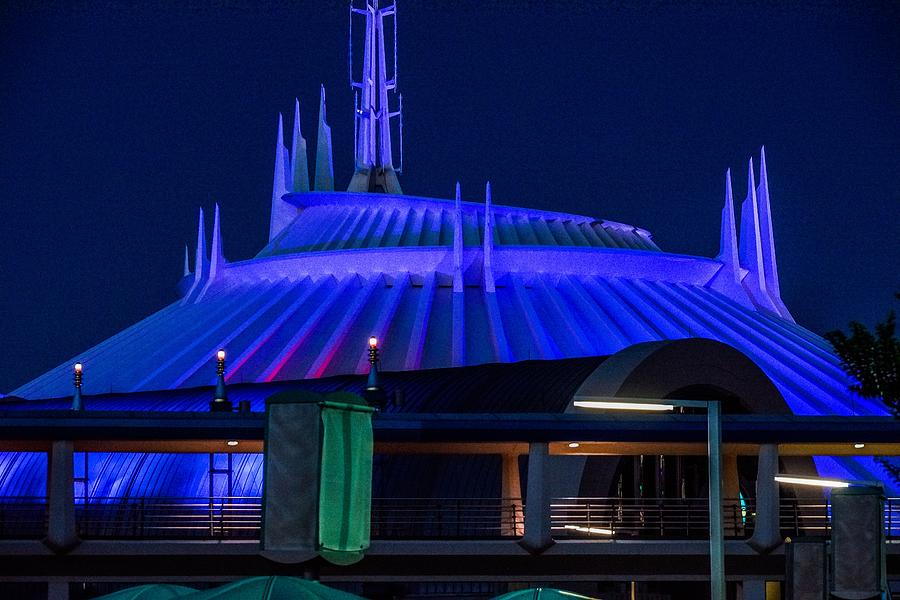 Space Mountain by Rodney Lee Williams