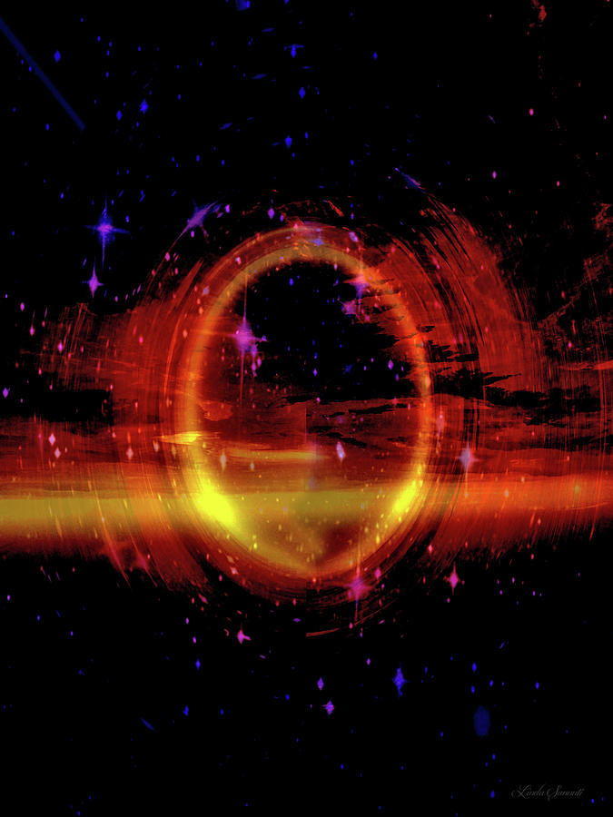 Space Ring by Linda Sannuti