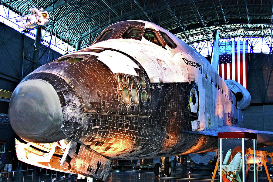 Spaceflight Photograph - Space Shuttle Discovery View No. 2 by Patti Whitten