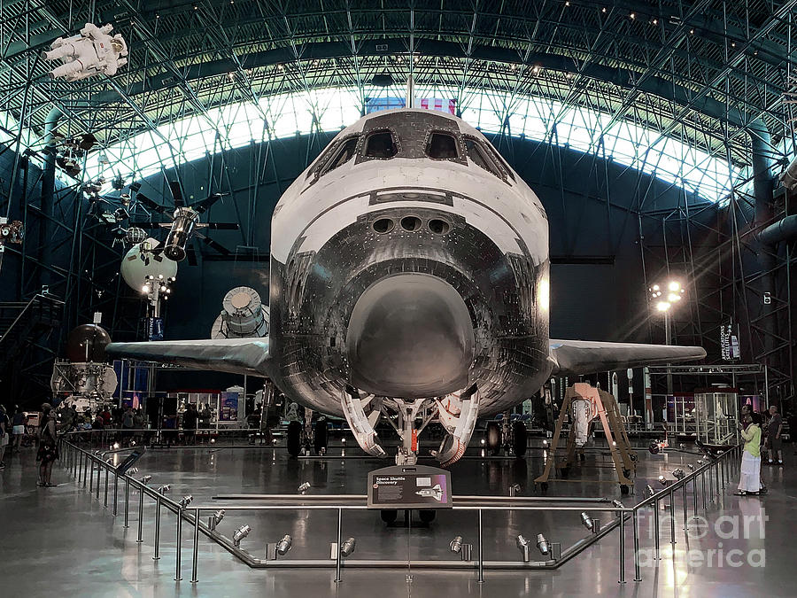 Space Shuttle On Display Photograph