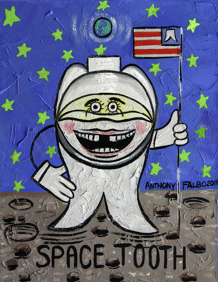 Space Tooth Painting