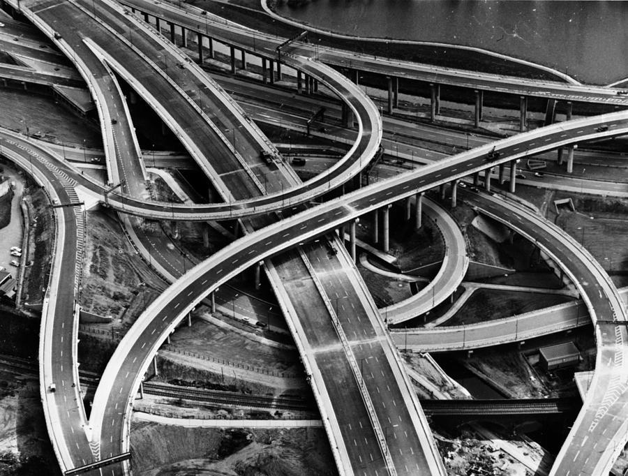 Spaghetti Junction Photograph by Keystone
