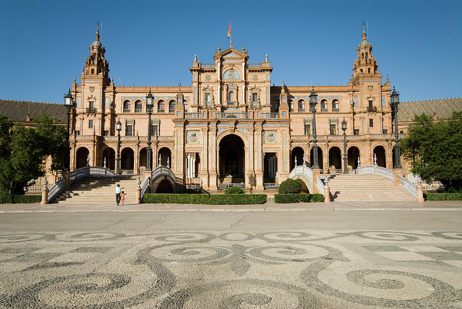 Spain, Andalucia, Seville, Spain Square Photograph by Gerault Gregory / Hemis.fr