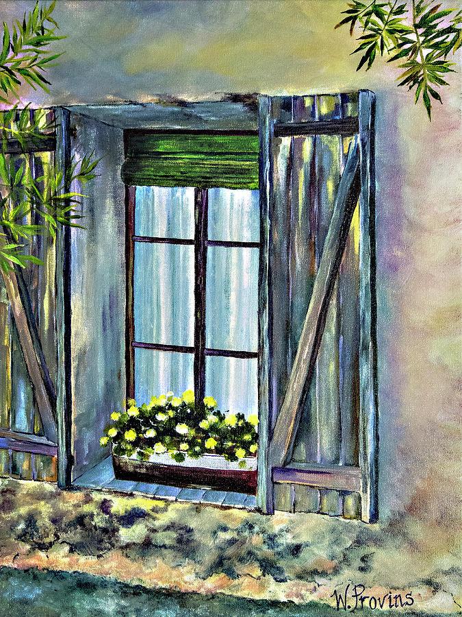 Spanish Window by Wendy Provins