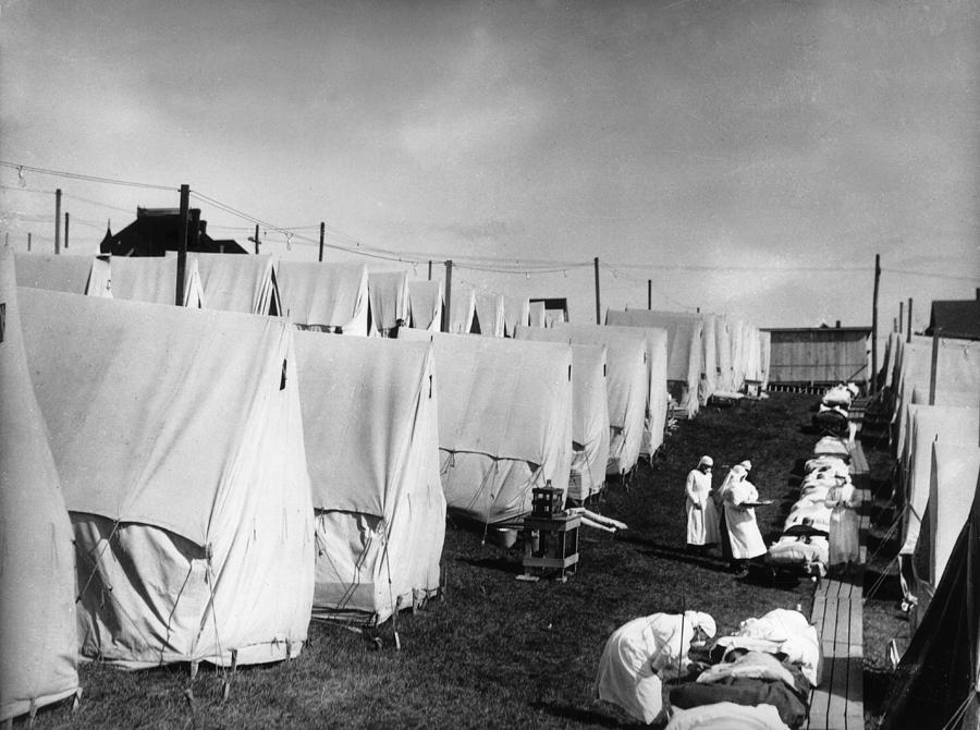 Spanish Flu Photograph by Hulton Archive