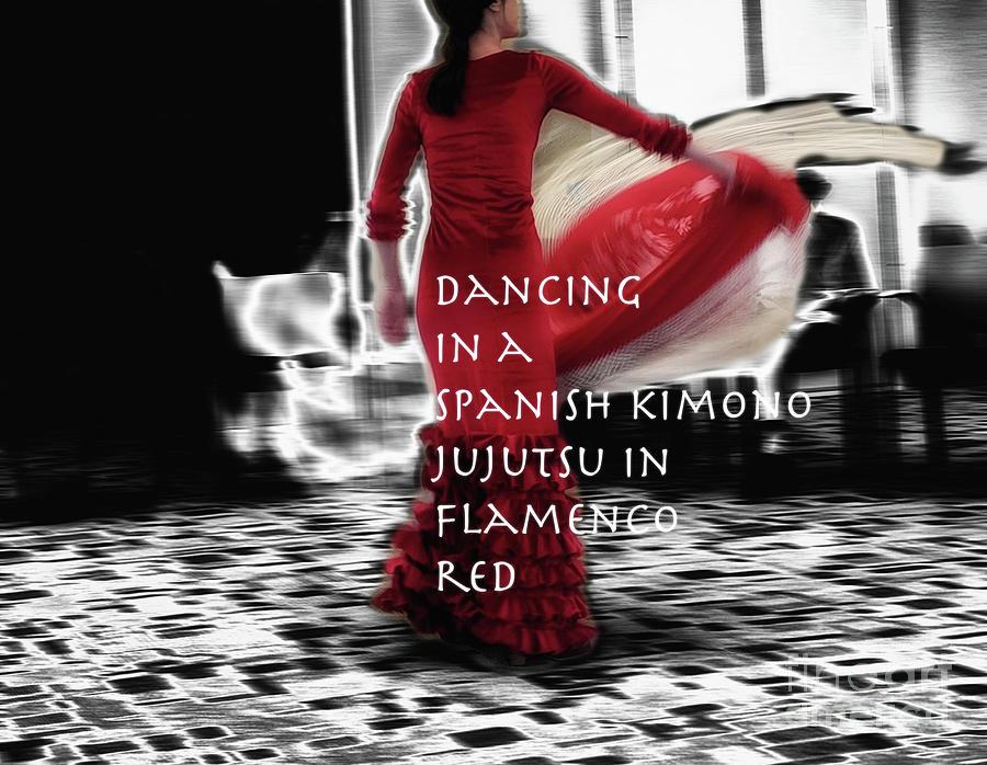 Dancer Photograph - Spanish Kimono  by Steven Digman