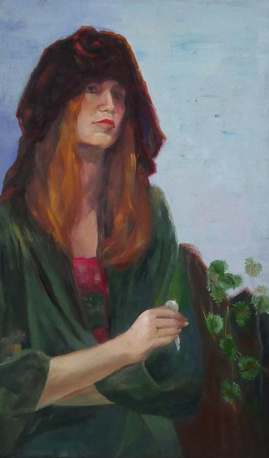 Key Painting - Spare Key by Irena Jablonski