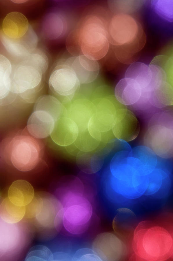 Sparkle Of Christmas Ornaments Photograph by Daryl Solomon