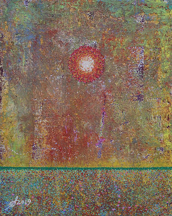 Sparkling Marsh original painting by Sol Luckman