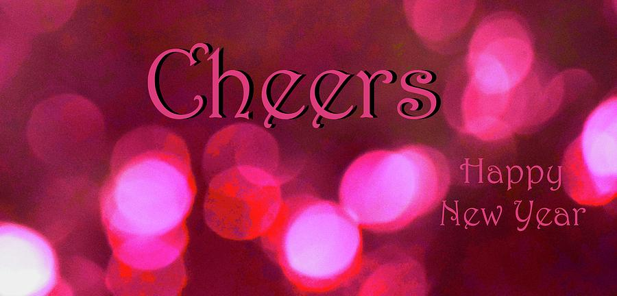 Sparkling Pink Glow Cheers Too by Debra Grace Addison