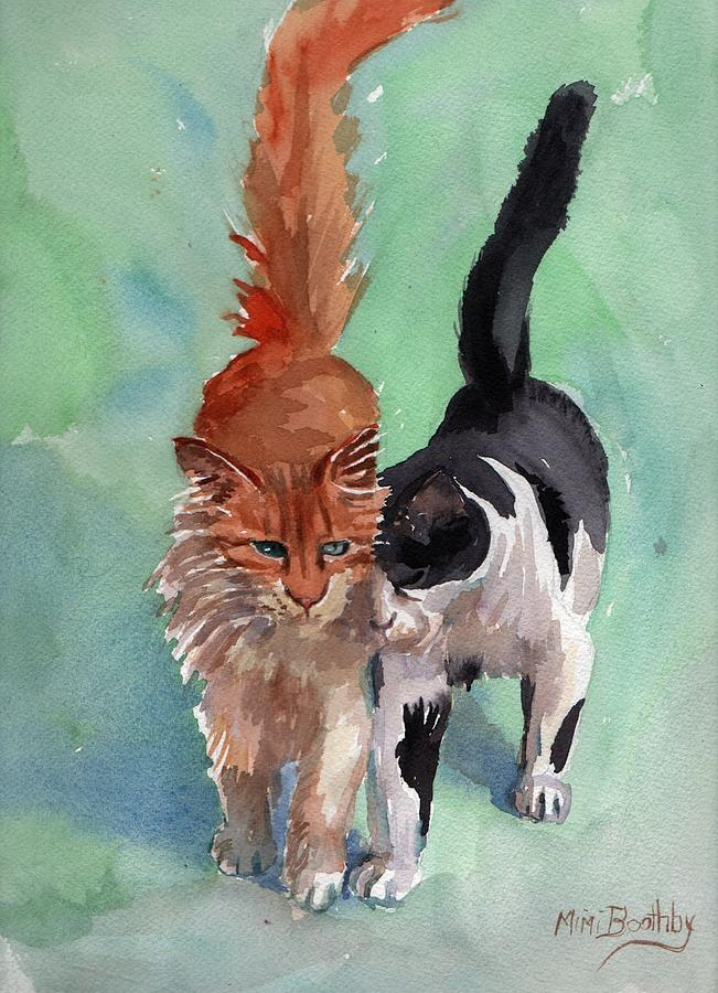 Sparky and Friend by Mimi Boothby