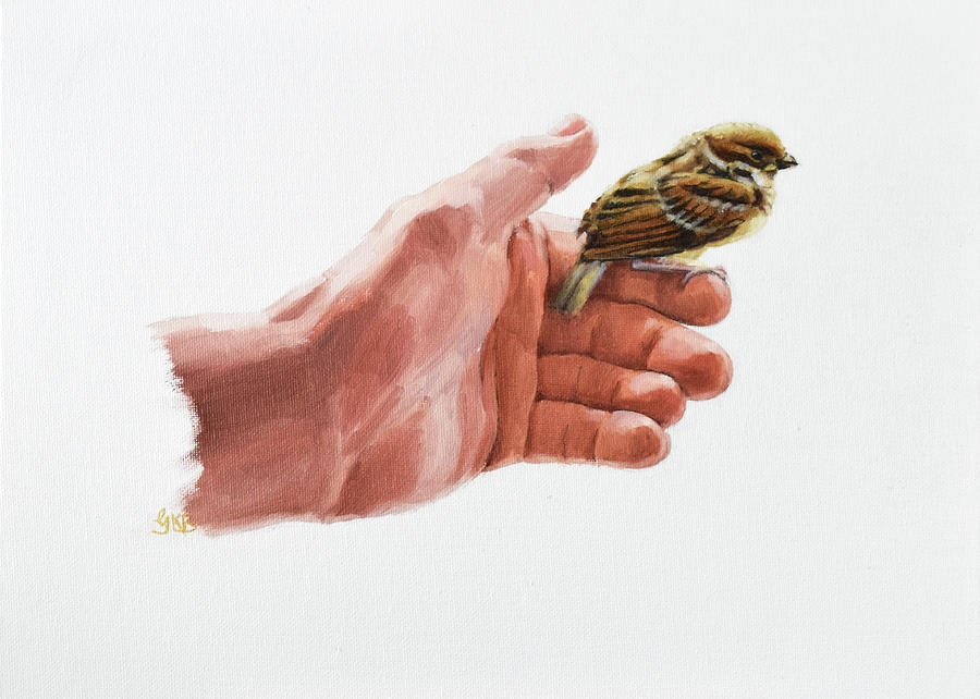 Sparrow in His Hand by Graham Braddock
