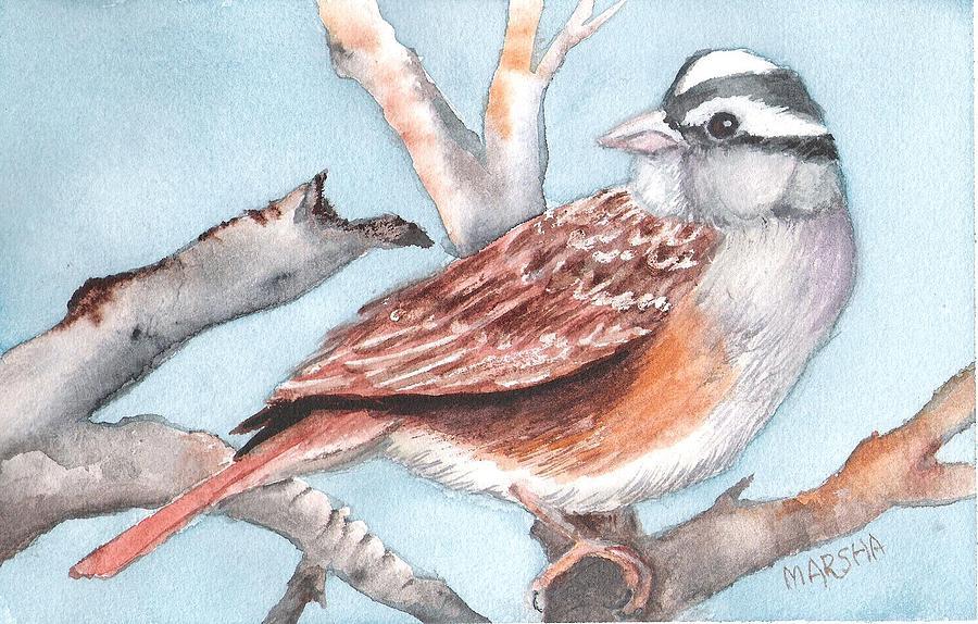 Sparrow by Marsha Woods
