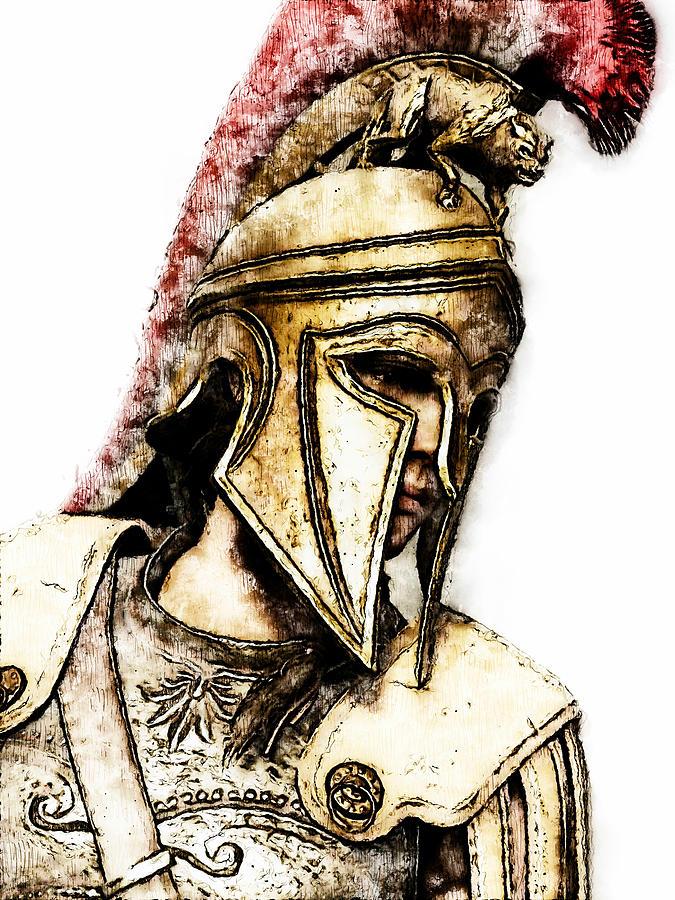 Spartan Hoplite - 52 by Andrea Mazzocchetti
