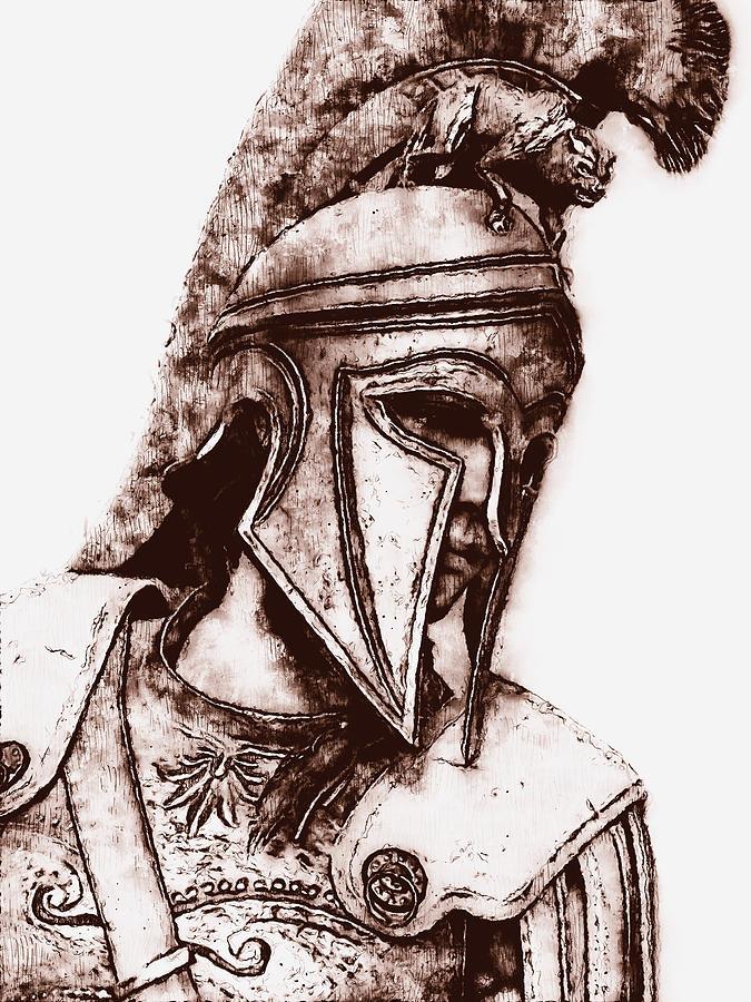 Spartan Hoplite - 53 by Andrea Mazzocchetti