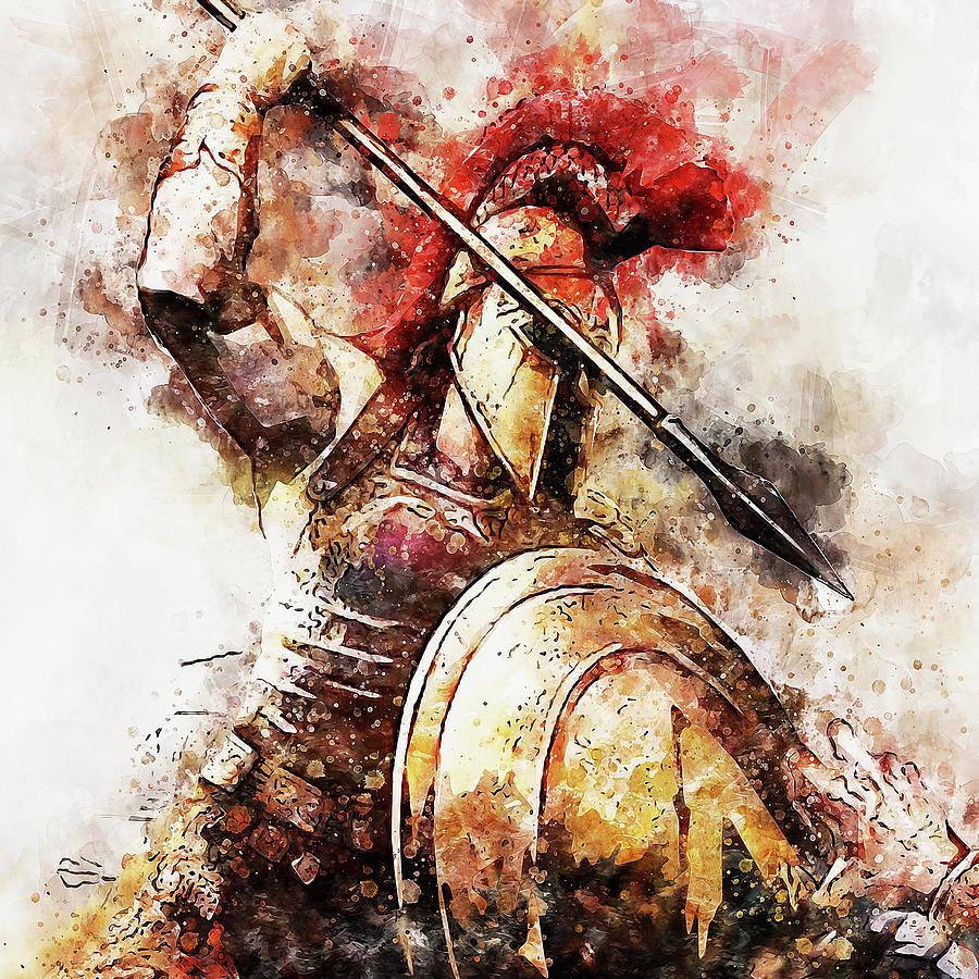 Spartan Hoplite - 54 by Andrea Mazzocchetti
