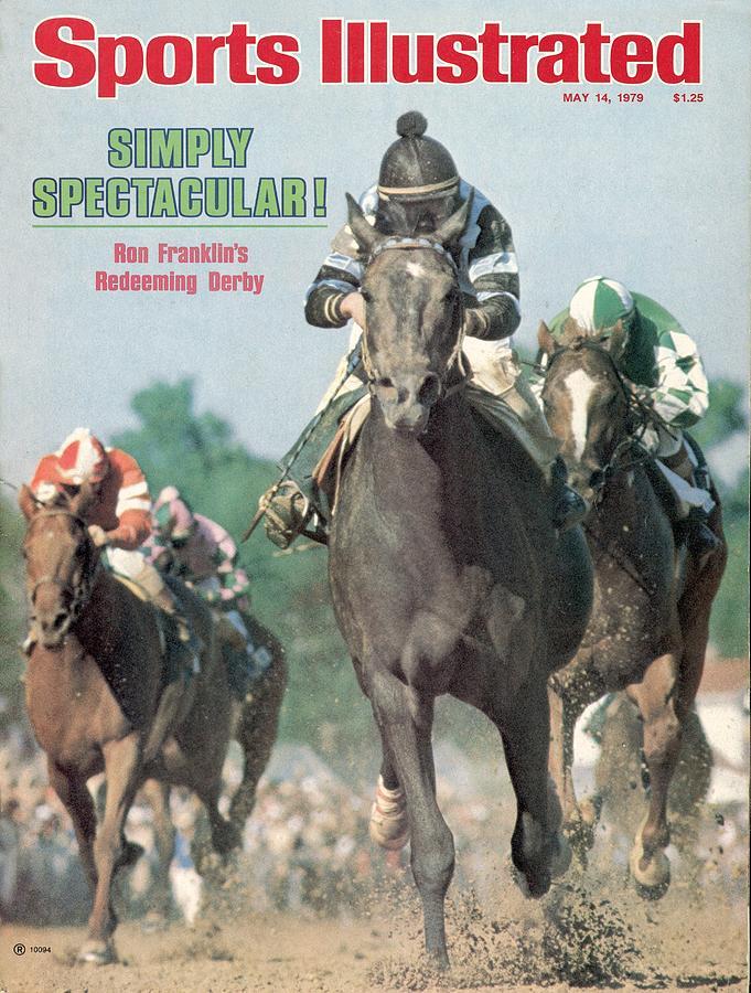 Spectacular Bid, 1979 Kentucky Derby Sports Illustrated Cover Photograph by Sports Illustrated