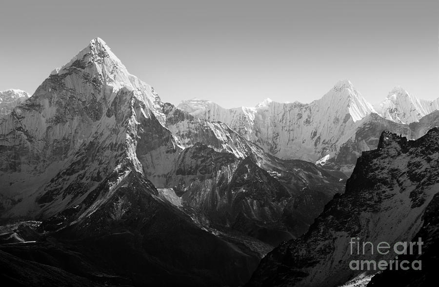 Altitude Photograph - Spectacular Mountain Scenery by Thpstock