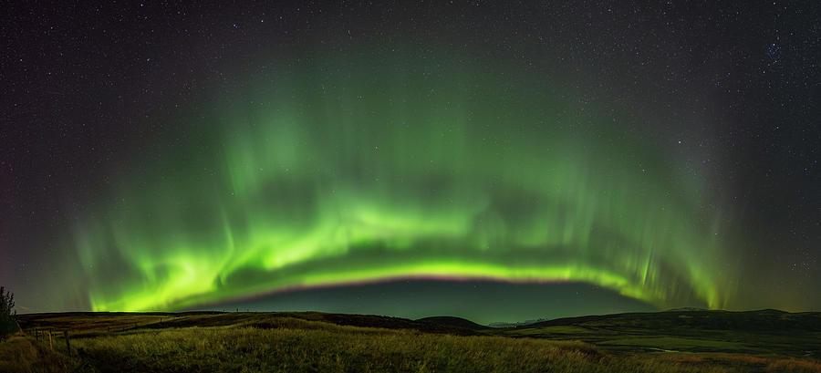 Stars Photograph - Spectacular Northern Lights by Bartosz Wojczynski