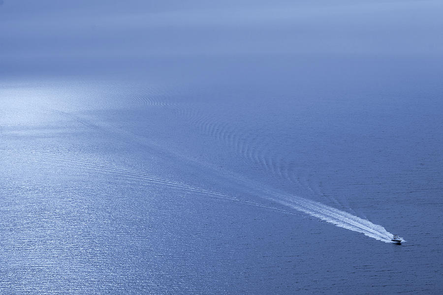 Speedboat On The Sea Photograph by Nikada