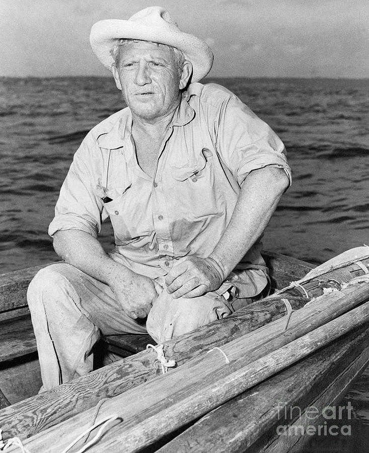 Spencer Tracy In A Scene From The Old Photograph by Bettmann