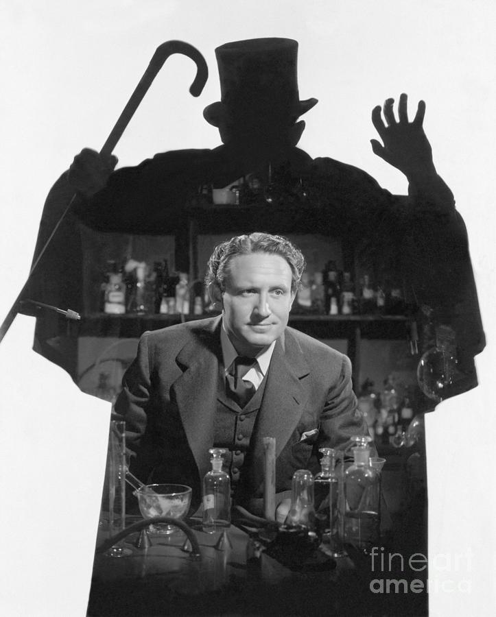 Spencer Tracy In Dr. Jekyll And Mr. Hyde Photograph by Bettmann