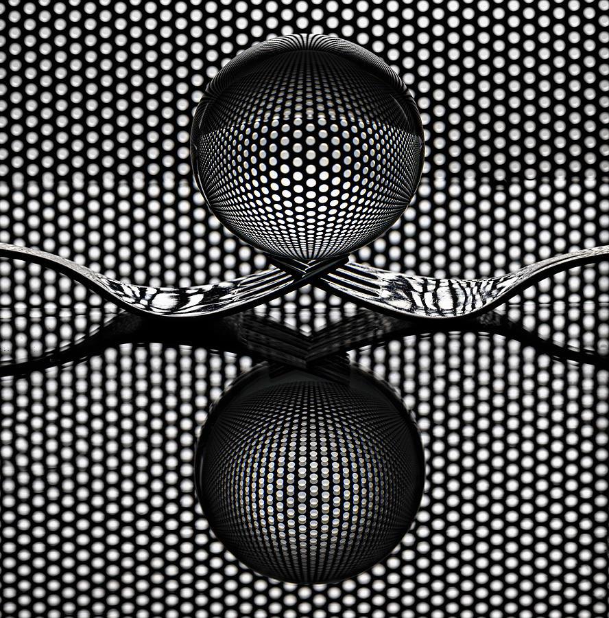 Sphere Photograph - Sphere  N Fork by Howard Ashton-jones