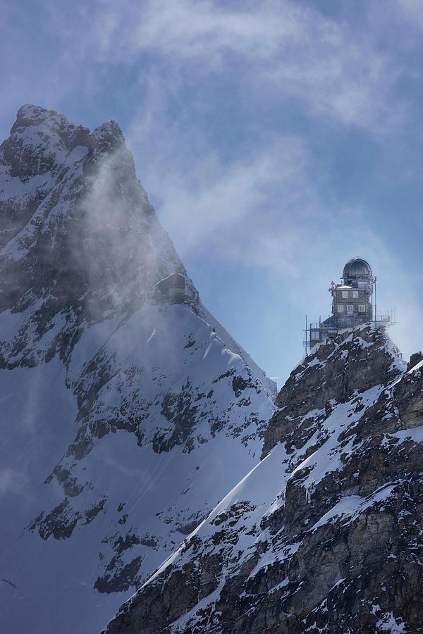 Sphinx Observatory On Jungfraujoch by Jan Greune / Look-foto