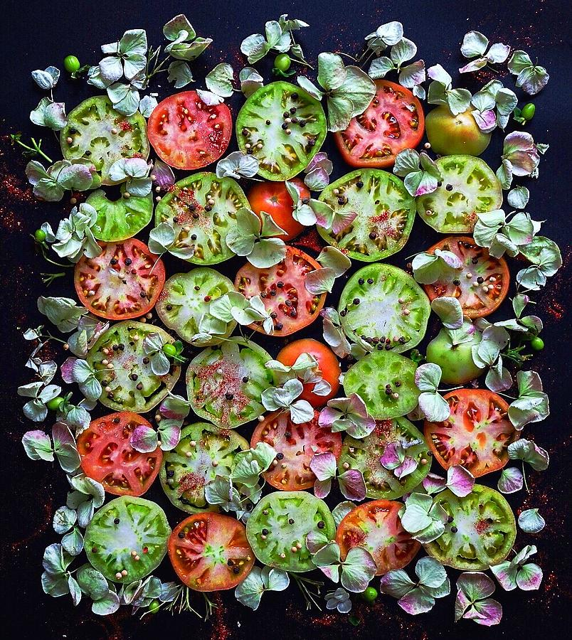 Spiced Tomatoes by Sarah Phillips