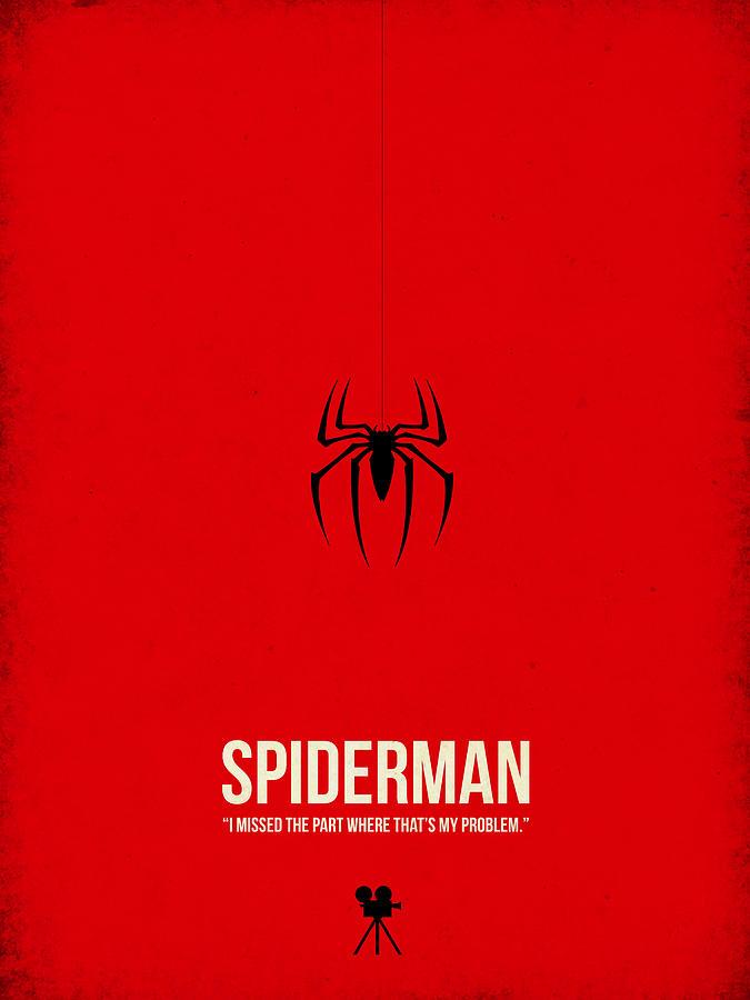 Spider-man Digital Art - Spider-man by Naxart Studio