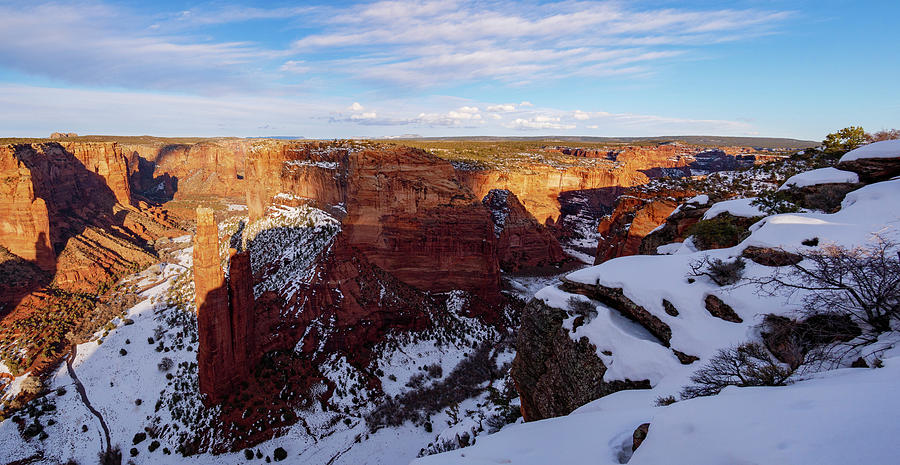 Spider Rock Panorama II by Todd Bannor