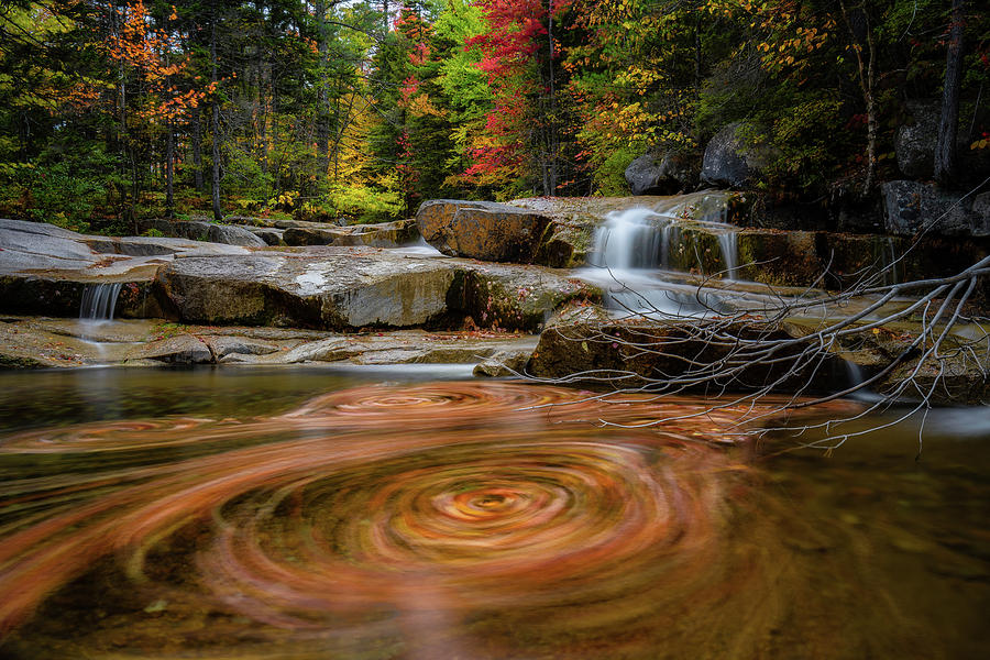 Spin Cycle Sawyer River N H by Michael Hubley