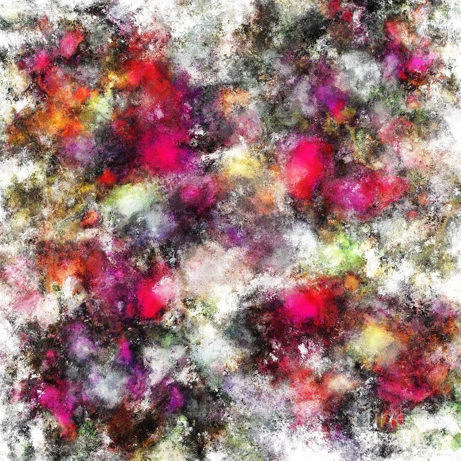 Pink Digital Art - Spin by Keith Mills