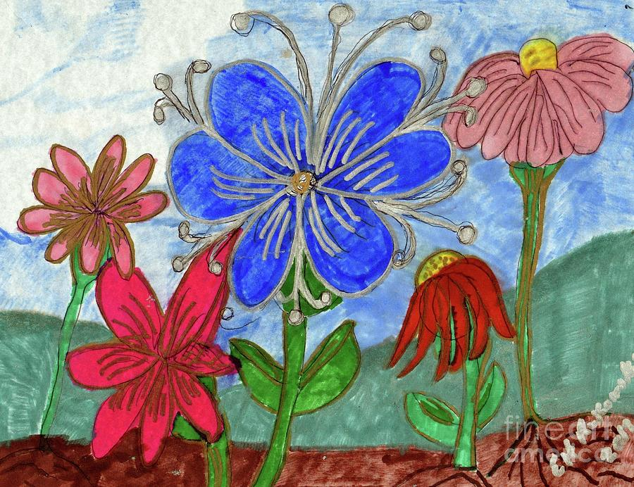 Spring Garden Mixed Media by Elinor Helen Rakowski