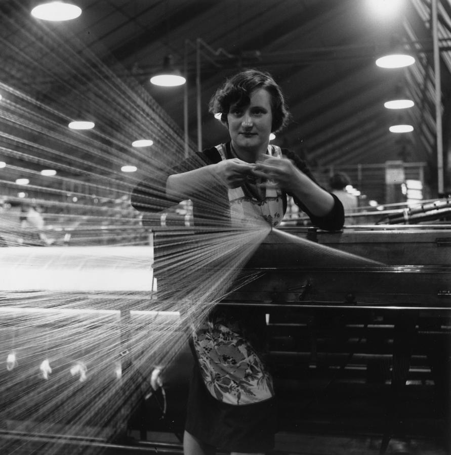 Spinning Jenny Photograph by John Chillingworth
