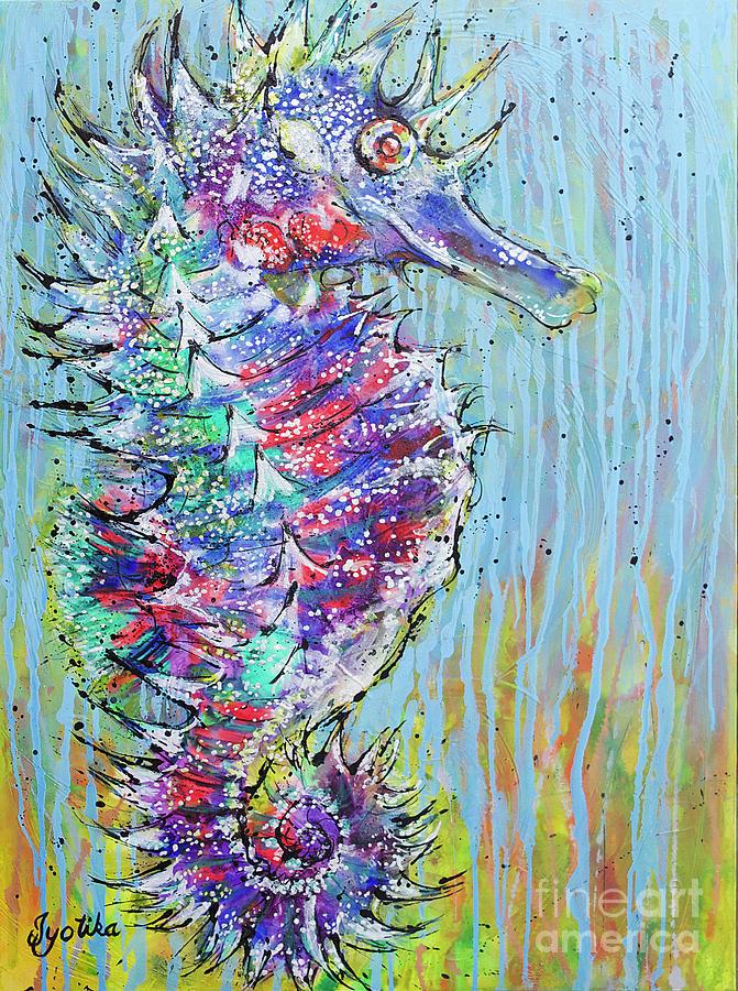 Spiny Seahorse by Jyotika Shroff