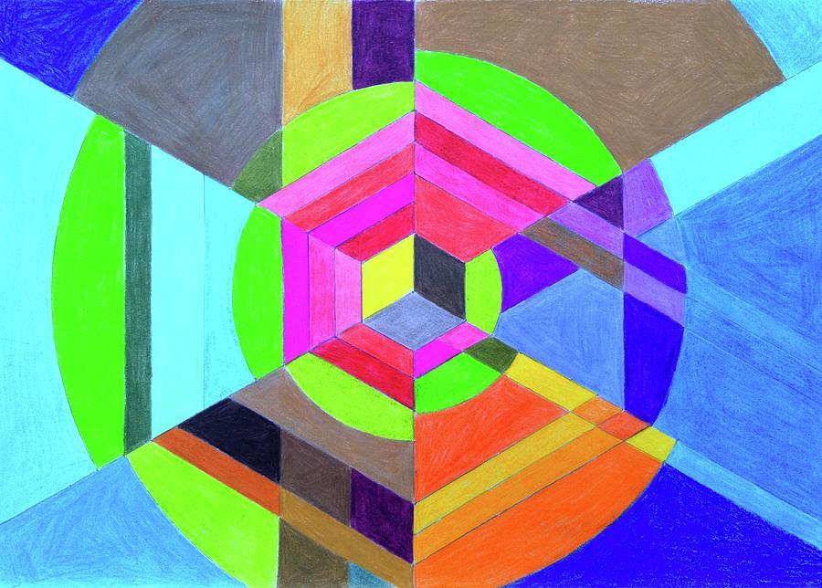 Spiral Hex by Elizabeth Anne