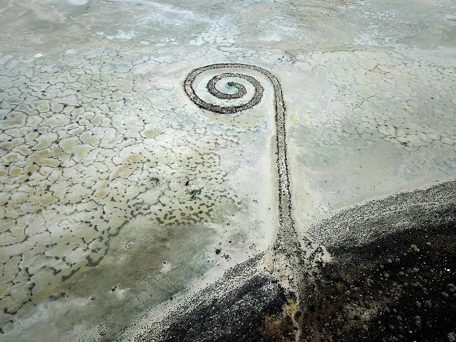 Spiral Jetty 23 by Ron Brown Photography