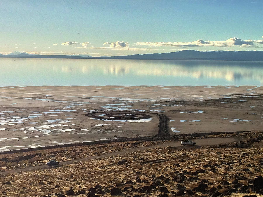 Spiral Jetty and the Great Salt Lake by Ron Brown Photography