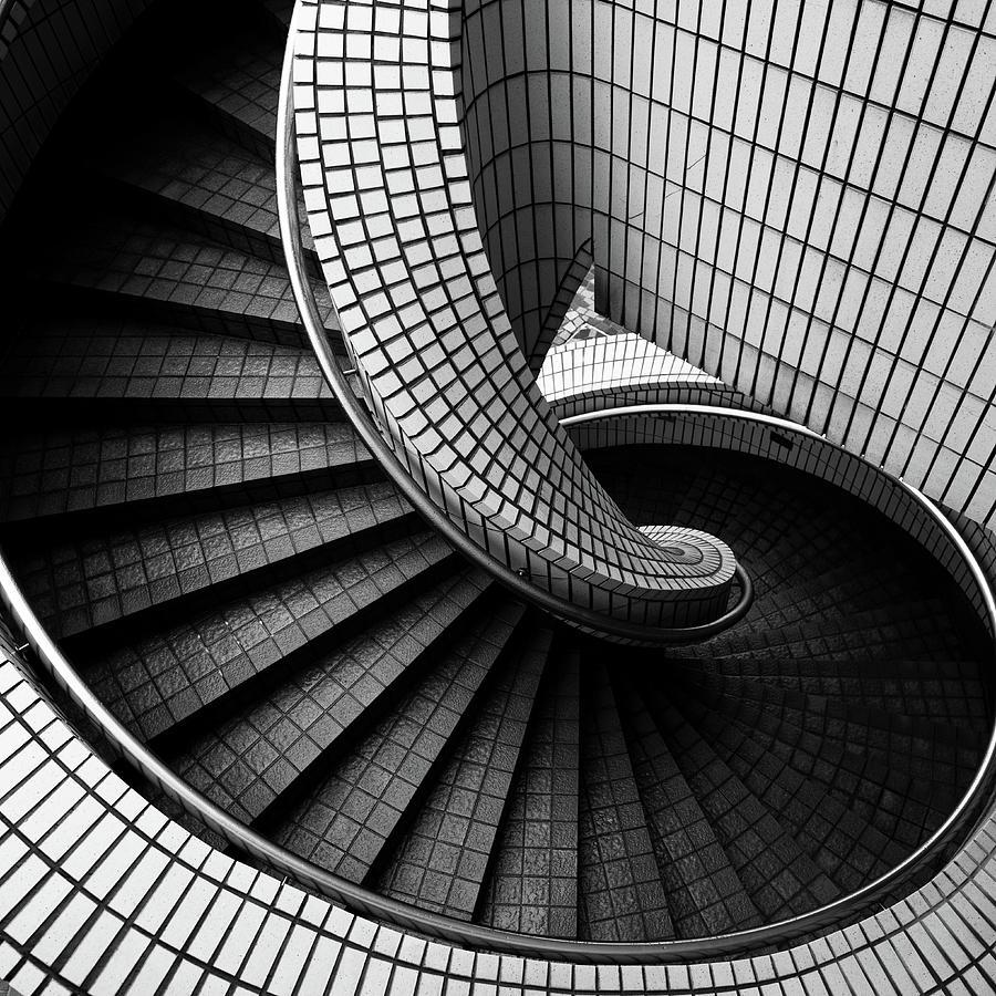 Spiral Staircase Photograph by Baona