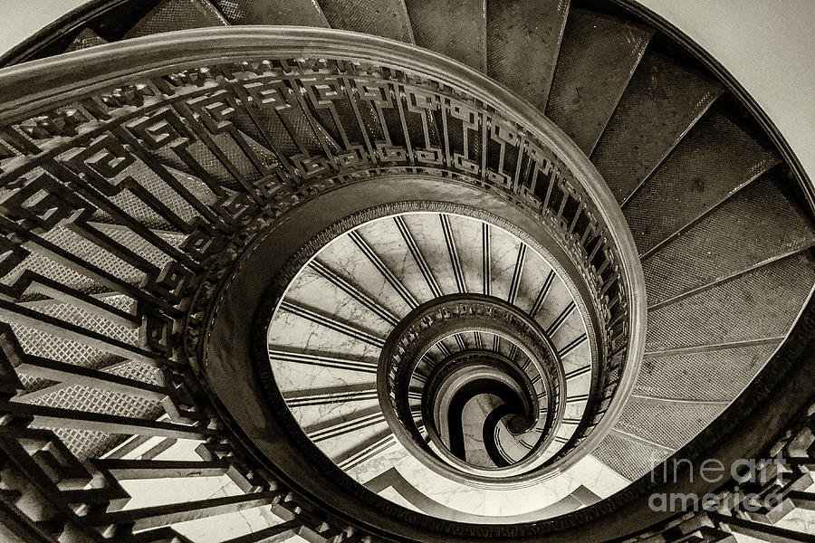 Spiral Staircase by Jennifer Ludlum