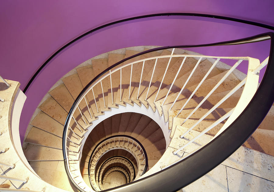 Spiral Staircase Photograph by Lappes