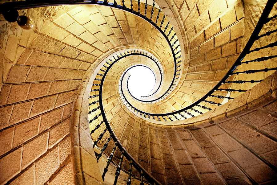 Spiral Staircase Photograph by Orbon Alija