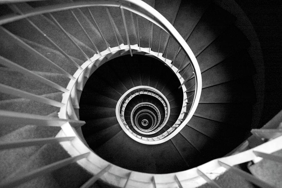 Spiral Staircase Photograph by Ricardo Liberato
