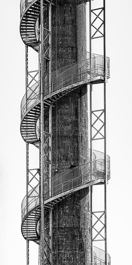 Stairs Photograph - Spiral Staircase by Tom Mc Nemar