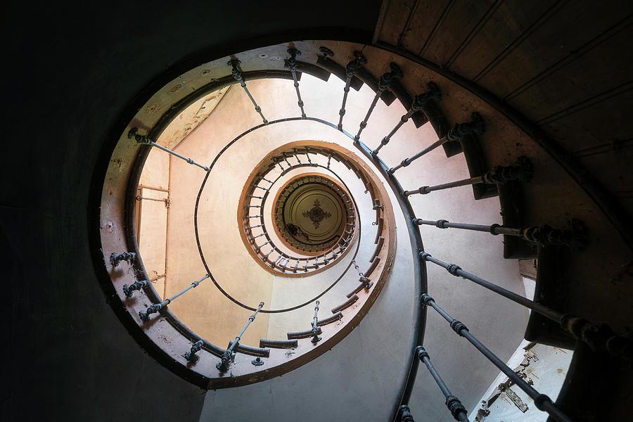Spiral Stairs by Roman Robroek