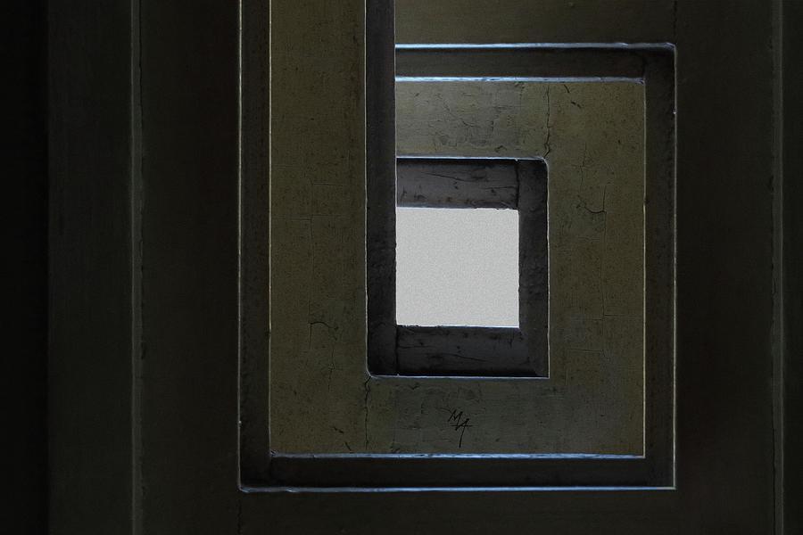 Spiral Window by Attila Meszlenyi